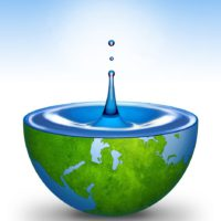 Water drop - Water drop background. Water of the World